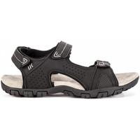Topánky Muži Sandále Lumberjack SM43006 002 R93 čierna