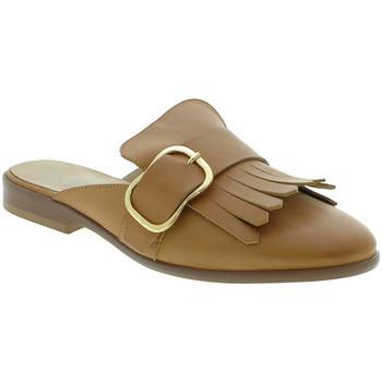 Topánky Ženy Nazuvky Mally 6116 Hnedá