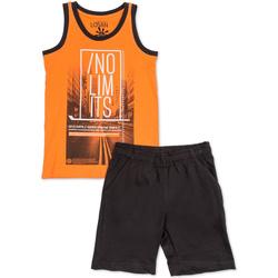 Oblečenie Chlapci Komplety a súpravy Losan 713 8044AA Oranžová