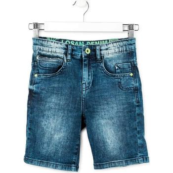 Oblečenie Chlapci Šortky a bermudy Losan 713 9006AA Modrá