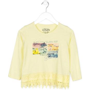 Oblečenie Deti Svetre Losan 714 1031AB žltá