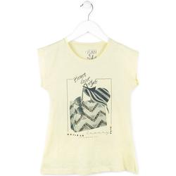 Oblečenie Dievčatá Tričká s krátkym rukávom Losan 714 1212AB žltá
