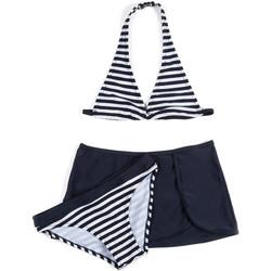 Oblečenie Dievčatá Plavky dvojdielne Losan 714 4009AB Modrá
