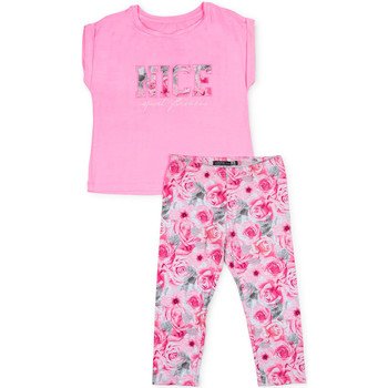 Oblečenie Dievčatá Komplety a súpravy Losan 714 8004AB Ružová