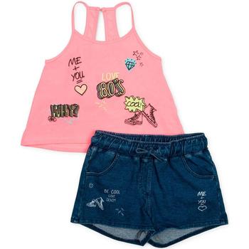 Oblečenie Dievčatá Komplety a súpravy Losan 714 8010AB Ružová