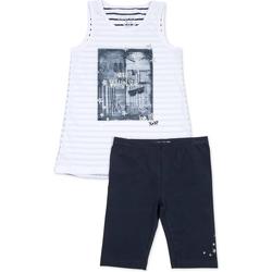 Oblečenie Dievčatá Komplety a súpravy Losan 714 8042AB Modrá