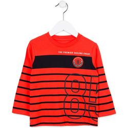 Oblečenie Deti Svetre Losan 715 1002AC Červená