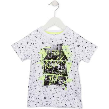 Oblečenie Deti Tričká s krátkym rukávom Losan 715 1008AC Biely