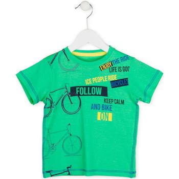Oblečenie Chlapci Tričká s krátkym rukávom Losan 715 1014AC Zelená