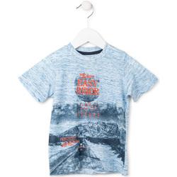 Oblečenie Chlapci Tričká s krátkym rukávom Losan 715 1018AC Modrá