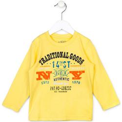 Oblečenie Deti Svetre Losan 715 1208AC žltá