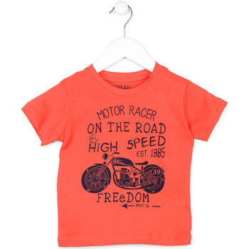 Oblečenie Deti Tričká s krátkym rukávom Losan 715 1215AC Oranžová