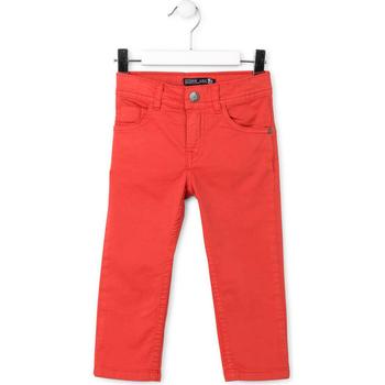 Oblečenie Deti Nohavice päťvreckové Losan 715 9650AC Červená