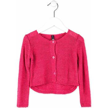 Oblečenie Dievčatá Cardigany Losan 716 5000AD Ružová