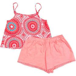 Oblečenie Dievčatá Komplety a súpravy Losan 716 8009AD Ružová