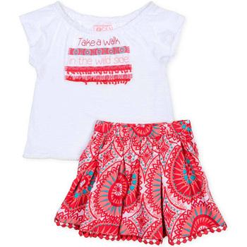 Oblečenie Dievčatá Komplety a súpravy Losan 716 8010AD Biely