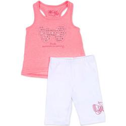 Oblečenie Dievčatá Komplety a súpravy Losan 716 8015AD Ružová
