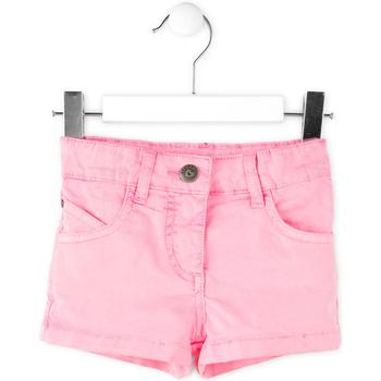 Oblečenie Dievčatá Šortky a bermudy Losan 716 9652AD Ružová