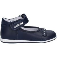 Topánky Dievčatá Balerínky a babies Melania ME0121A7E.A Modrá