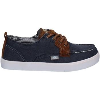Topánky Chlapci Námornícke mokasíny Xti 54932 Modrá