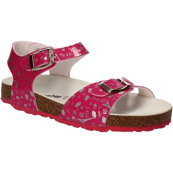Topánky Dievčatá Sandále Bamboo BAM-10 Ružová