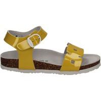 Topánky Deti Sandále Bionatura 22B1024 žltá