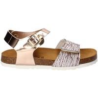 Topánky Dievčatá Sandále Bamboo BAM-218 Biely