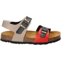 Topánky Deti Sandále Bamboo BAM-14 Modrá