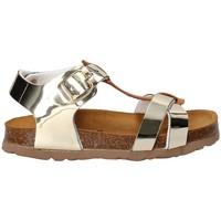 Topánky Dievčatá Sandále Bamboo BAM-215 žltá