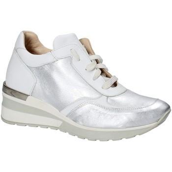 Topánky Ženy Nízke tenisky Exton E06 Striebro