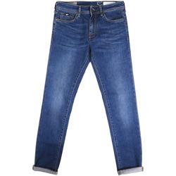Oblečenie Muži Rifle Slim  Gas 351177 Modrá
