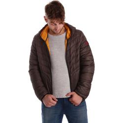 Oblečenie Muži Vyteplené bundy Gaudi 721BU35009 Hnedá