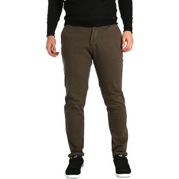 Oblečenie Muži Nohavice Chinos a Carrot Gaudi 721BU25014 Hnedá