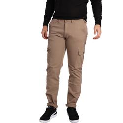 Oblečenie Muži Nohavice Cargo Gaudi 721BU25019 Béžová