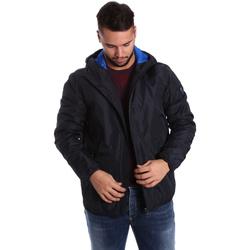 Oblečenie Muži Vyteplené bundy Ea7 Emporio Armani 6YPB34 PN02Z Modrá