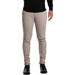 Oblečenie Muži Nohavice Chinos a Carrot Sei3sei PZV21 7275 Béžová