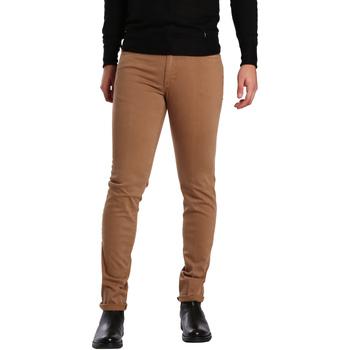 Oblečenie Muži Nohavice päťvreckové Sei3sei PZV16 7239 Béžová