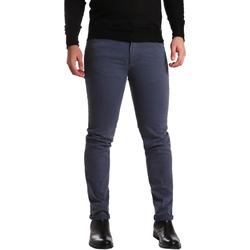 Oblečenie Muži Nohavice päťvreckové Sei3sei PZV16 7239 Modrá