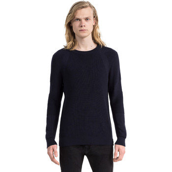 Oblečenie Muži Svetre Calvin Klein Jeans J30J305473 Modrá