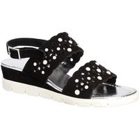 Topánky Ženy Sandále Keys 5915 čierna