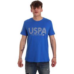 Oblečenie Muži Tričká s krátkym rukávom U.S Polo Assn. 57197 49351 Modrá