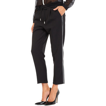 Oblečenie Ženy Nohavice Chinos a Carrot Gas 365777 čierna