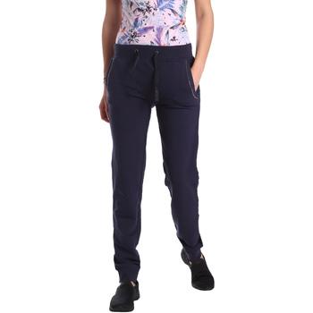 Oblečenie Ženy Tepláky a vrchné oblečenie Key Up GE42 0001 Modrá