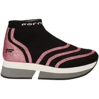 Topánky Ženy Členkové tenisky Fornarina PI18SL1077J066 čierna