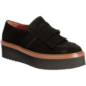 Topánky Ženy Mokasíny Triver Flight 217-04 čierna