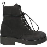 Topánky Ženy Čižmičky Mally 4235 čierna
