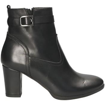 Topánky Ženy Čižmičky Mally 4473 čierna