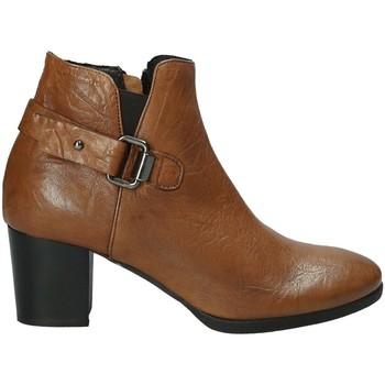 Topánky Ženy Čižmičky Mally 5404 Hnedá