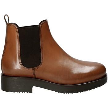 Topánky Ženy Čižmičky Mally 5535J Hnedá