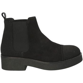 Topánky Ženy Čižmičky Mally 5536 čierna